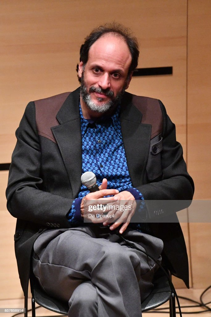 Director Luca Guadagnino speaks onstage at NYFF Live: Making 'Call Me by Your Name' during the 55th New York Film Festival at Elinor Bunin Munroe Film Center on October 4, 2017 in New York City.