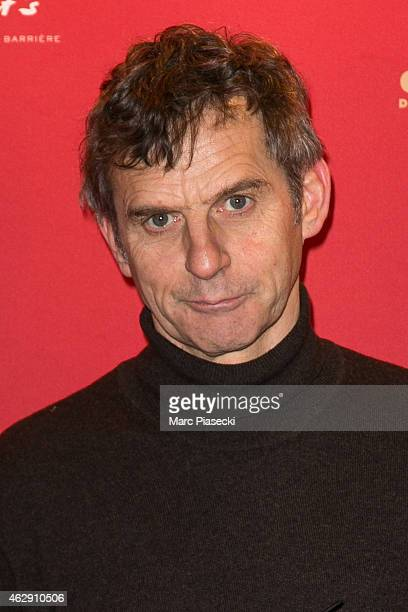 Director Lucas Belvaux attends the Nominee luncheon photocall at Le Fouquet's on February 7 2015 in Paris France