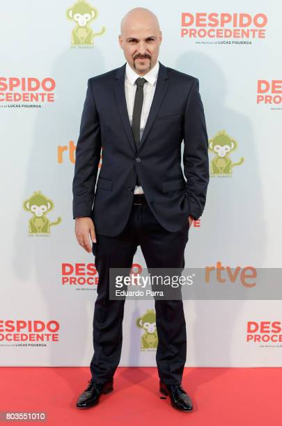 Director Lucas Figueroa attends the 'Despido procedente' photocall at Callao cinema on June 29 2017 in Madrid Spain