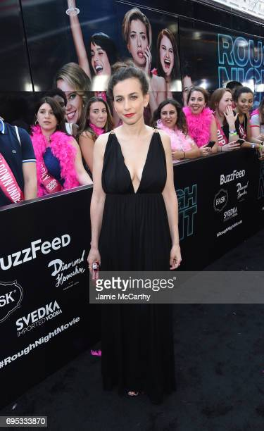 Director Lucia Aniello attends New York Premiere of Sony's ROUGH NIGHT presented by SVEDKA Vodka at AMC Lincoln Square Theater on June 12 2017 in New...