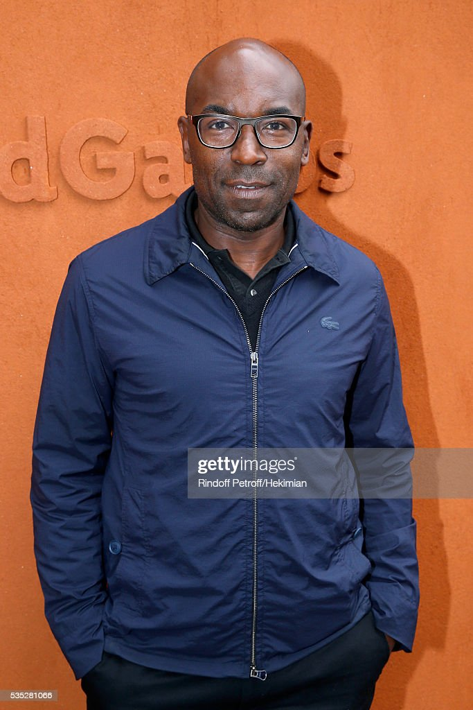 Director Lucien Jean-Baptiste attends Day Height of the 2016 French Tennis Open at Roland Garros on May 29, 2016 in Paris, France.