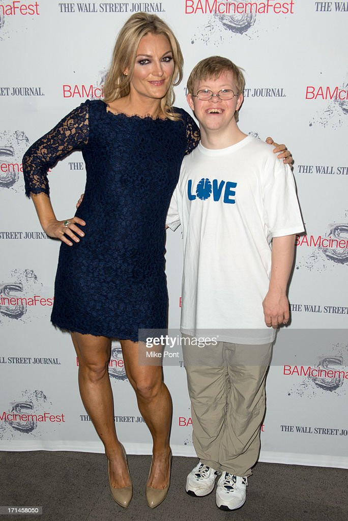Director Lucy Walker and David Pearce attend BAMcinemaFest New York 2013 Screening Of 'The Crash Reel' at Peter Jay Sharp Theater on June 24 2013 in...
