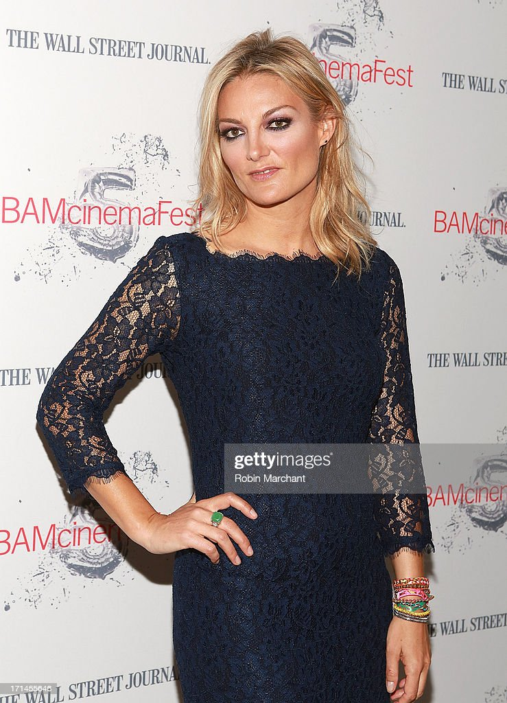 Director Lucy Walker attends BAMcinemaFest New York 2013 Screening Of 'The Crash Reel' at BAM Rose Cinemas on June 24, 2013 in New York City.