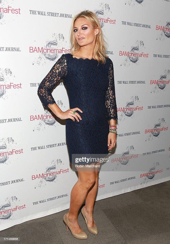 Director Lucy Walker attends BAMcinemaFest New York 2013 Screening Of 'The Crash Reel' at BAM Rose Cinemas on June 24, 2013 in New York City.