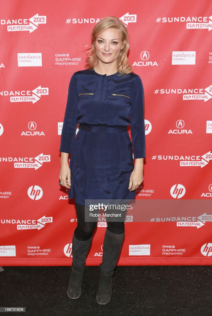 Director Lucy Walker attends 'The Crash Reel' premiere at The Marc Theatre during the 2013 Sundance Film Festival on January 19, 2013 in Park City, Utah.