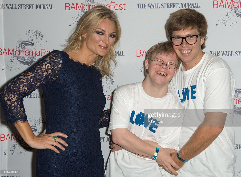Director Lucy Walker David Pearce and Snowboarder Kevin Pearce attend BAMcinemaFest New York 2013 Screening Of 'The Crash Reel' at Peter Jay Sharp...
