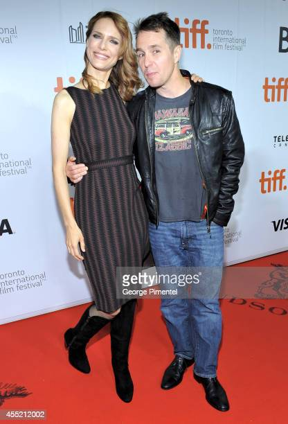 Director Lynn Shelton and actor Sam Rockwell attend the 'Laggies' premiere during the 2014 Toronto International Film Festival at Roy Thomson Hall on...