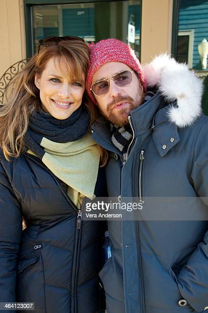 Director Lynn Shelton and Sam Rockwell at the 'Laggies' Press Conference at the Sundance Film Festival on January 19 2014 in Park City Utah