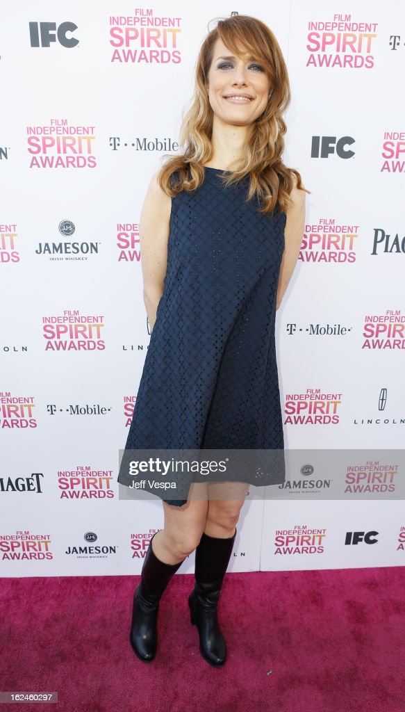 Director Lynn Shelton attends the 2013 Film Independent Spirit Awards at Santa Monica Beach on February 23, 2013 in Santa Monica, California.