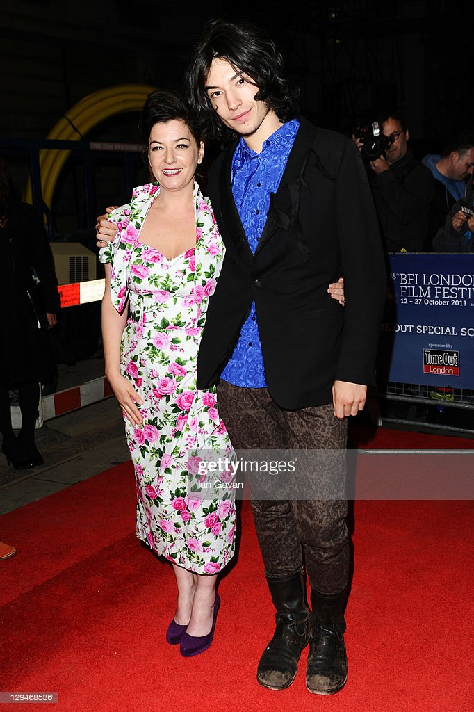 Director Lynne Ramsay and actor Ezra Miller attend the 'We Need To Talk About Kevin' premiere during the 55th BFI London Film Festival at The Curzon...