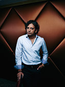 Director M Night Shyamalan is photographed for Self Assignment on September 1 2015 in Paris France
