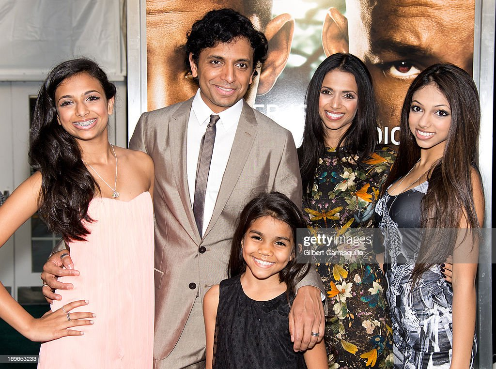 """M Night Shyamalan Daughters """"After Earth&quot..."""