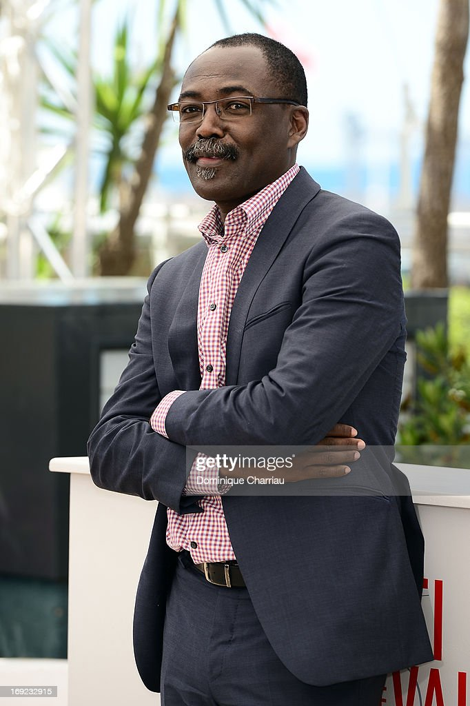 Director Mahamat Saleh Haroun attends the photocall for 'Grigris' during The 66th Annual Cannes Film Festival on May 22, 2013 in Cannes, France.
