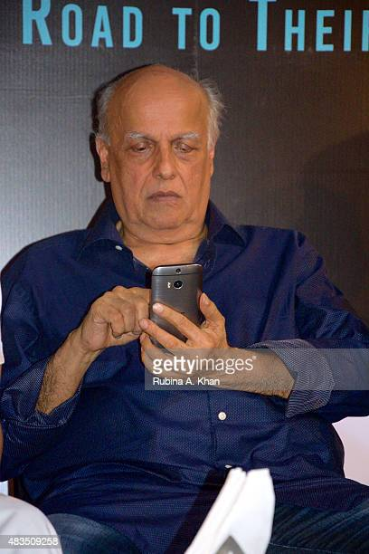 Director Mahesh Bhatt attends the book release of Rakesh Anand Bakshi's 'Directors' Diaries The Road To Their First Film' published by Harper Collins...