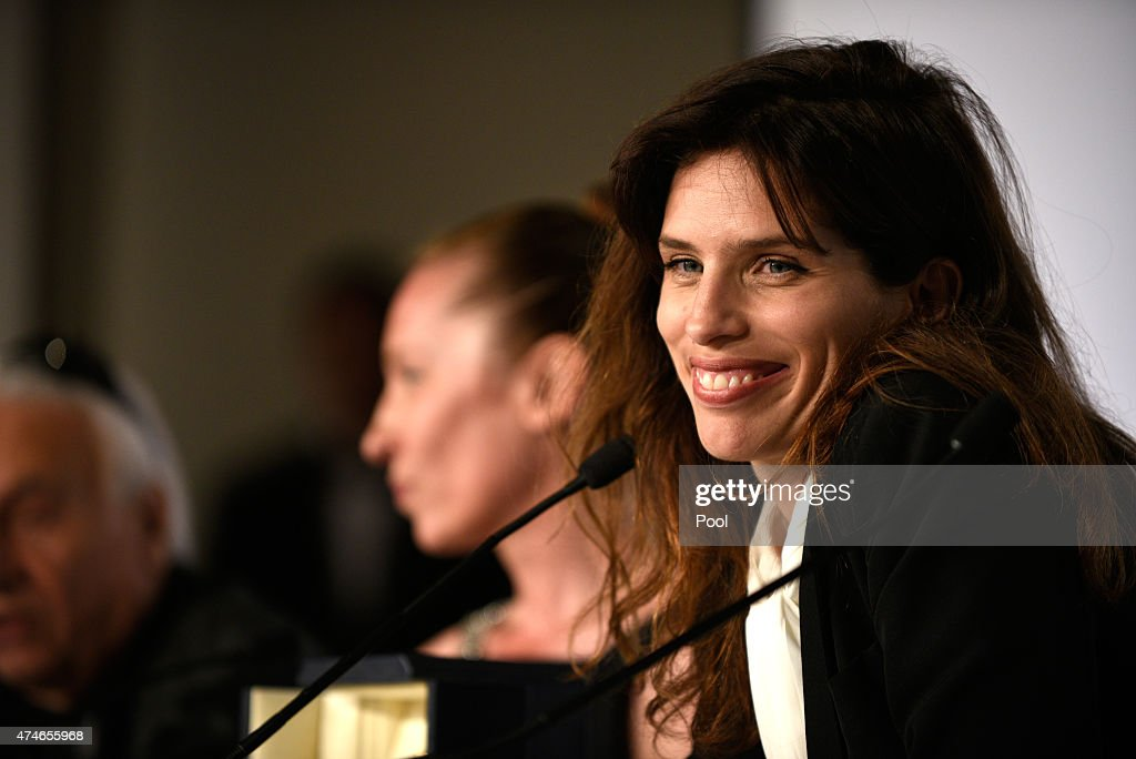 Director Maiwenn attends the Palm D'Or Winners press conference during the 68th annual Cannes Film Festival on May 24, 2015 in Cannes, France.