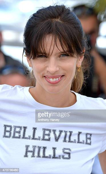 Director Maiwenn Le Besco attends the 'Mon Roi' photocall during the 68th annual Cannes Film Festival on May 17 2015 in Cannes France