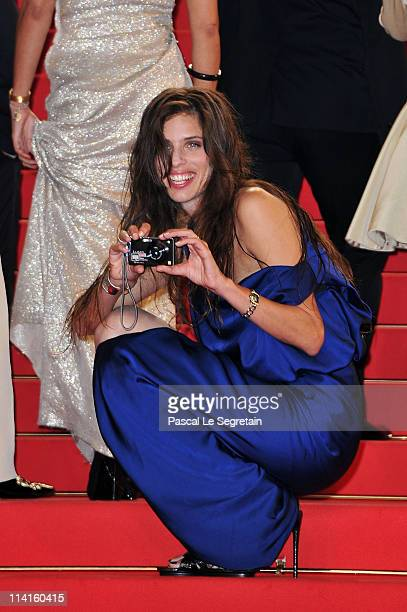 Director Maiwenn Le Besco attends the 'Polisse' premiere at the Palais des Festivals during the 64th Cannes Film Festival on May 13 2011 in Cannes...