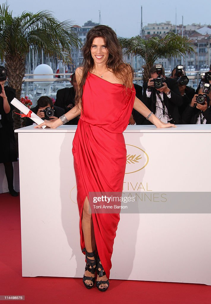 Director Maiwenn Le Besco with her Award for the Jury Prize for the film 'Polisse' during the Palme D'Or Winners Photocall at the 64th Annual Cannes...