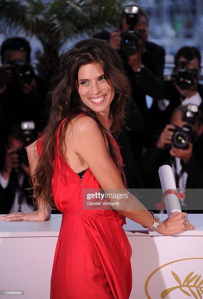 Director Maiwenn Le Besco with her Award for the Jury Prize for the film 'Polisse' during the Palme D'Or Winners Photocall at the 64th Annual Cannes Film Festival at the Palais des Festivals on May 22, 2011 in Cannes, France.