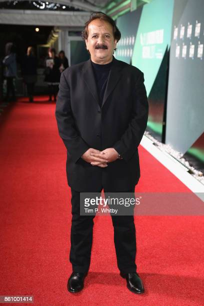 Director Majid Majidi attends the World Premiere of 'Beyond The Clouds' during the 61st BFI London Film Festival on October 13 2017 in London England