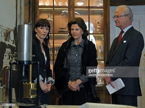 Director Malgorzata SobieszczakMarciniak of Warsaw's Maria SklodowskaCurie Museum devoted to the Polish born scientist who won two Nobel prizes for...