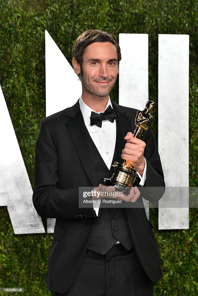 Director Malik Bendjelloul arrives at the 2013 Vanity Fair Oscar Party hosted by Graydon Carter at Sunset Tower on February 24, 2013 in West Hollywood, California.
