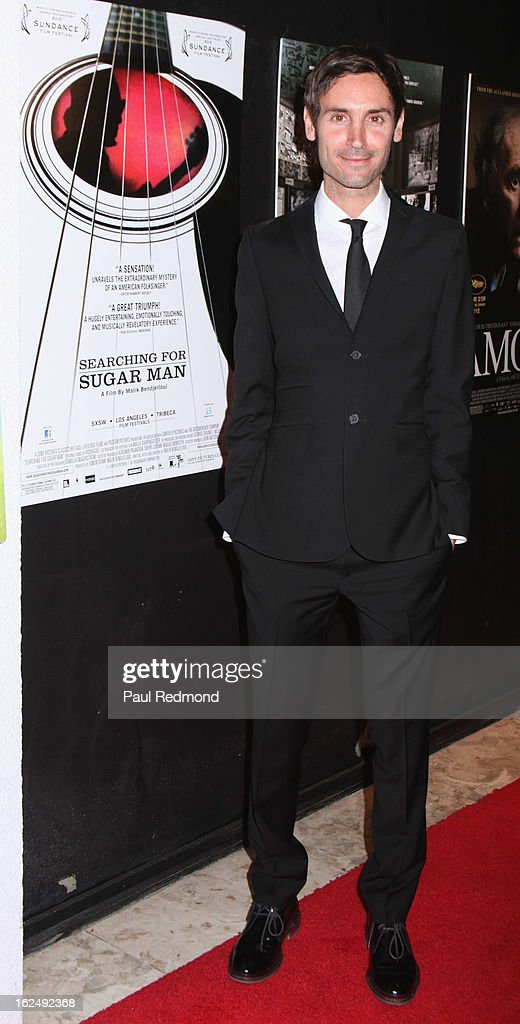 Director Malik Bendjelloul attends Sony Pictures Classics Pre-Oscar Dinner at The London Hotel on February 23, 2013 in West Hollywood, California.