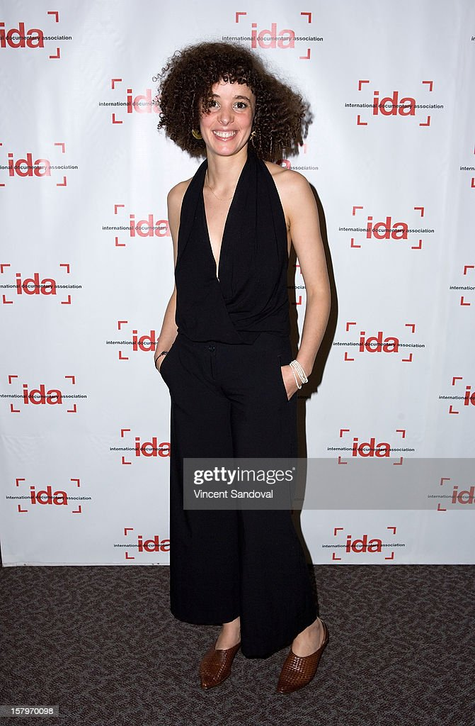Director Malika Zouhali Worrall attends the 2012 IDA Documentary Awards at Directors Guild Of America on December 7, 2012 in Los Angeles, California.