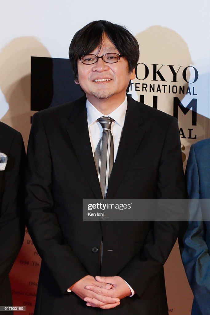 Director Mamoru Hosoda attends the Tokyo International Film Festival 2016 Opening Ceremony at Roppongi Hills on October 25, 2016 in Tokyo, Japan.