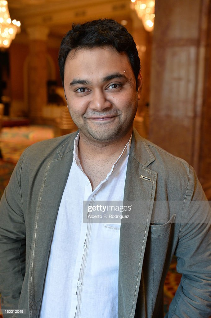 Director Maneesh Sharma from the India's 'A Random Desi Romance' cast prepares for the 2013 Toronto International Film Festival Premiere at Fairmont Royal York on September 11, 2013 in Toronto, Canada.