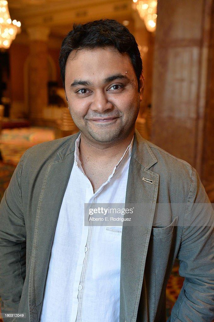 Director Maneesh Sharma from the India's 'A Random Desi Romance' cast prepares for the 2013 Toronto International Film Festival Premiere at Fairmont Royal York on September 11, 2013 in Toronto, Canada.
