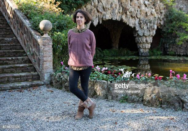 Director Mar Coll poses for the press on the set of her latest film 'Matar al Padre' on November 15 2017 in Barcelona Spain