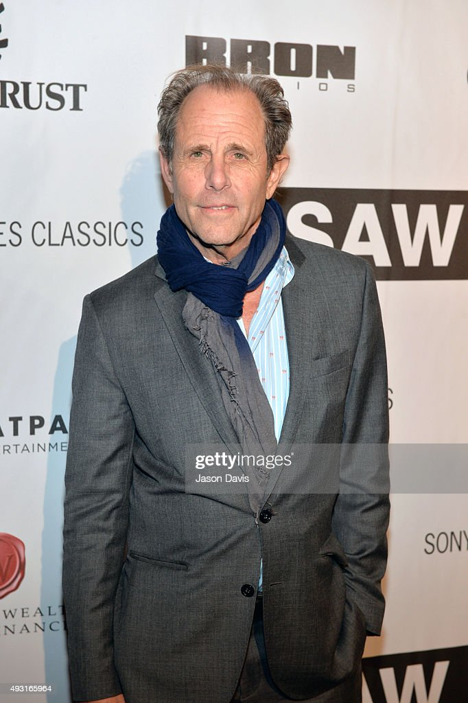 Director Marc Abraham arrives at the 'I Saw The Light' Nashville Premier at The Belcourt Theatre on October 17, 2015 in Nashville, Tennessee.
