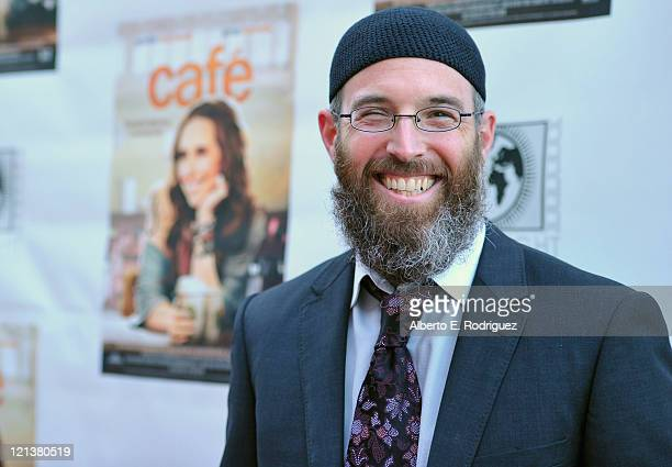 Director Marc Erlbaum arrives to the premiere of Maya Entertainment's 'Cafe' on August 18 2011 in Los Angeles California