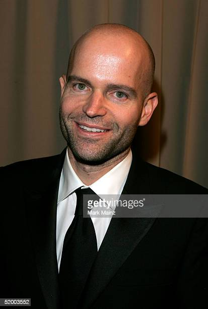 Director Marc Forester arrives at the Miramax 2005 Golden Globes After Party at Trader Vics on January 16 2005 in Beverly Hills California