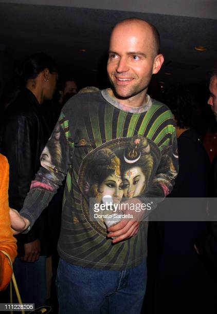 Director Marc Forster at a CD release party for the upcoming film 'Monster's Ball' In Hollywood California