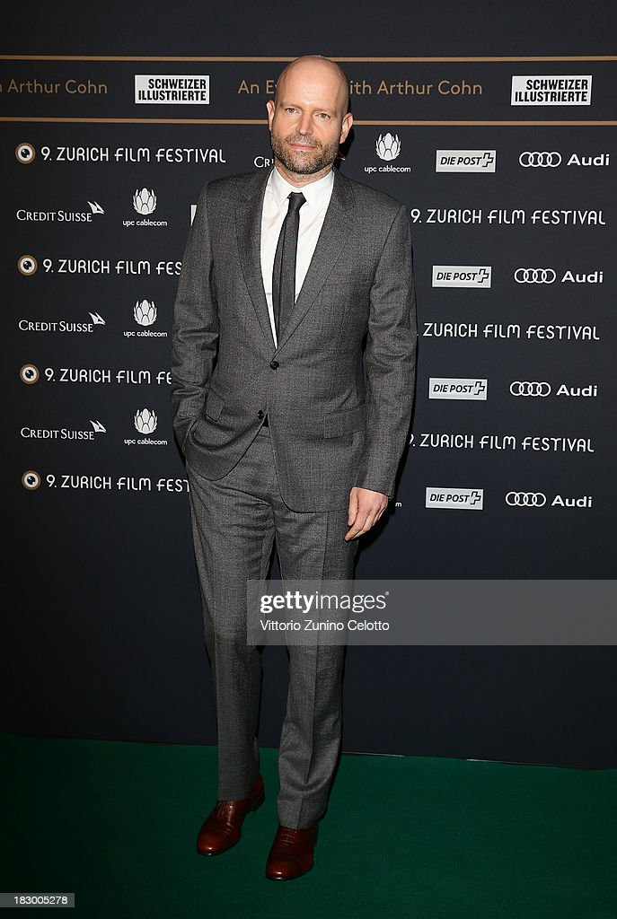 Director <a gi-track='captionPersonalityLinkClicked' href=/galleries/search?phrase=Marc+Forster&family=editorial&specificpeople=204746 ng-click='$event.stopPropagation()'>Marc Forster</a> attends an evening with Arthur Cohn during the Zurich Film Festival 2013 on October 3, 2013 in Zurich, Switzerland.