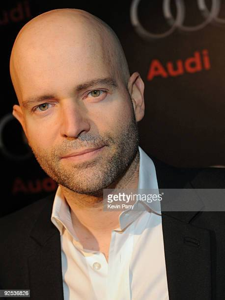 Director Marc Forster attends the Audi Diesel Dinner at Sunset Tower on October 29 2009 in West Hollywood California