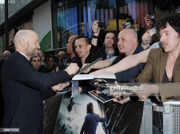 Director Marc Forster attends the World Premiere of 'World War Z' at The Empire Cinema on June 2 2013 in London England