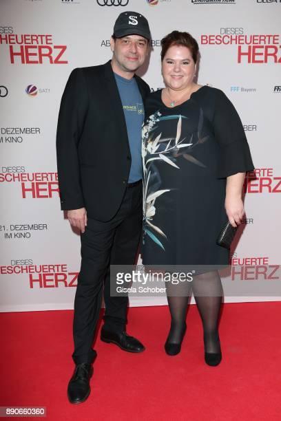 Director Marc Rothemund and Nadine Wrietz during the 'Dieses bescheuerte Herz' premiere at Mathaeser Filmpalast on December 11 2017 in Munich Germany