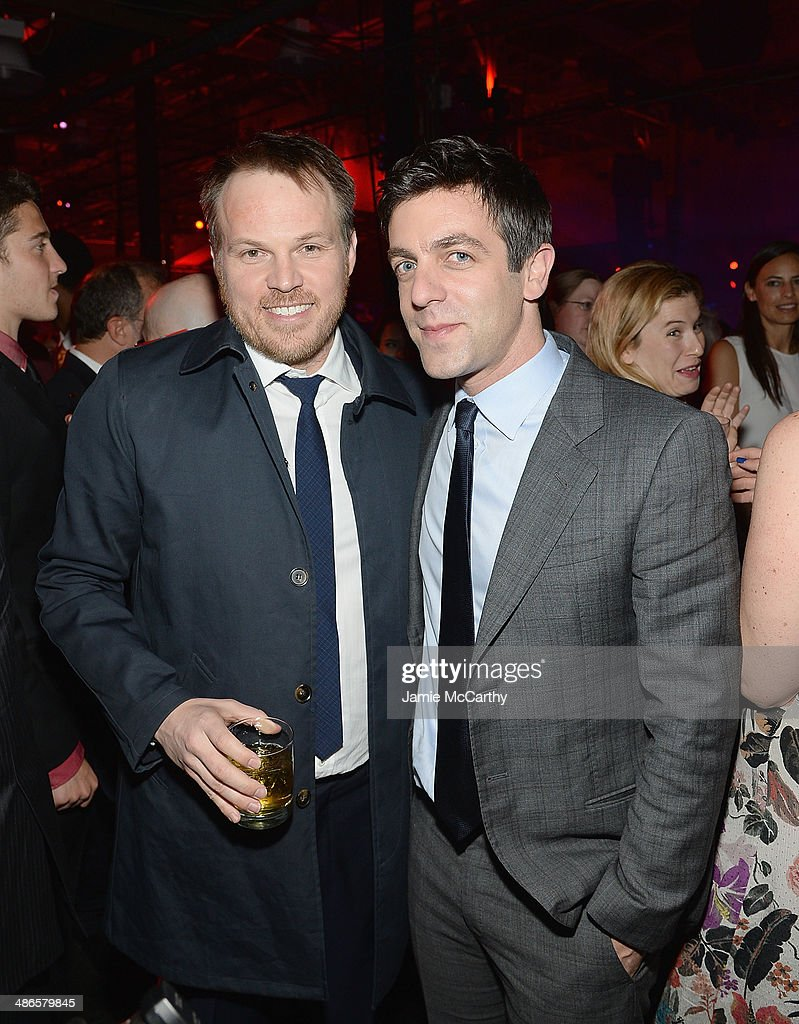 Director <a gi-track='captionPersonalityLinkClicked' href=/galleries/search?phrase=Marc+Webb&family=editorial&specificpeople=637083 ng-click='$event.stopPropagation()'>Marc Webb</a> and BJ Novak attend the after party for 'The Amazing Spider-Man 2' premiere at Skylight at Moynihan Station on April 24, 2014 in New York City.