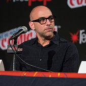 Director Marcos Siega attends Fox Network's 'The Following' panel at 2014 New York Comic Con Day 4 at Jacob Javitz Center on October 12 2014 in New...