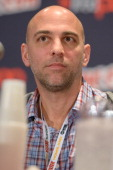 Director Marcos Siega attends 'The Following' pilot screening and QA at the 2012 New York Comic Con at the Javits Center on October 14 2012 in New...