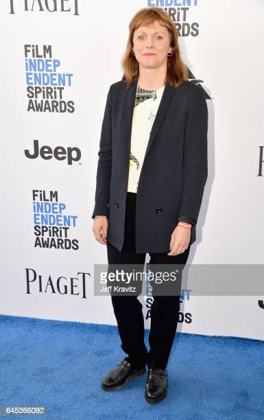 Director Maren Ade attends the 2017 Film Independent Spirit Awards at the Santa Monica Pier on February 25 2017 in Santa Monica California