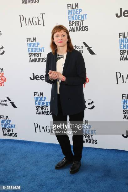 Director Maren Ade attends the 2017 Film Independent Spirit Awards on February 25 2017 in Santa Monica California