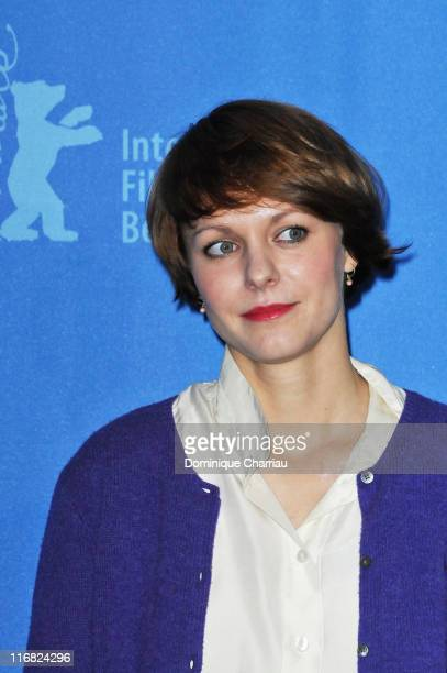 Director Maren Ade attends the 'Everyone Else' photocall during the 59th Berlin International Film Festival at the Grand Hyatt Hotel on February 9...