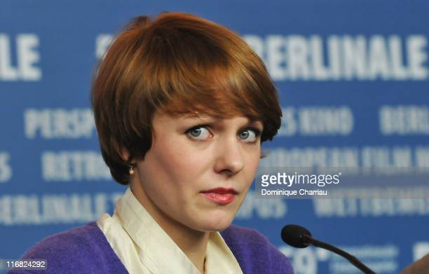 Director Maren Ade attends the 'Everyone Else' press conference during the 59th Berlin International Film Festival at the Grand Hyatt Hotel on...
