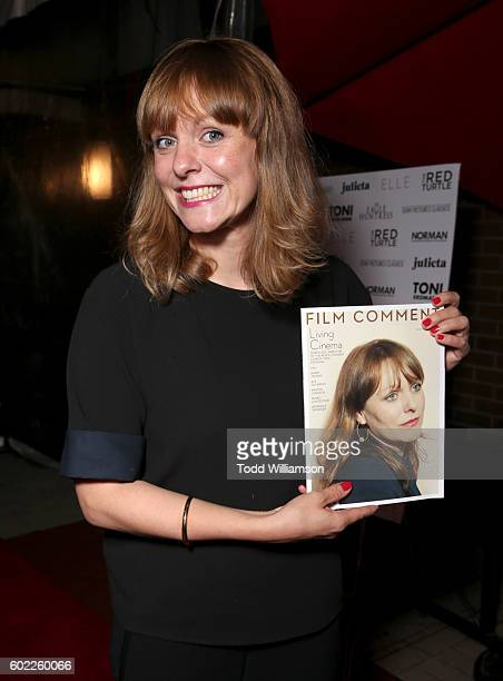 Director Maren Ade attends the Sony Pictures Classics TIFF Celebration Dinner during the 2016 Toronto International Film Festival at Creme Brasserie...
