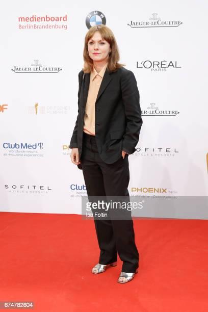 Director Maren Ade during the Lola German Film Award red carpet arrivals at Messe Berlin on April 28 2017 in Berlin Germany