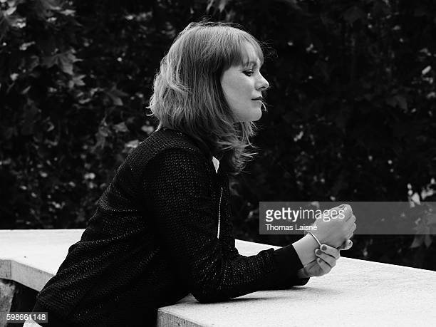Director Maren Ade is photographed for Self Assignment on June 22 2016 in Paris France